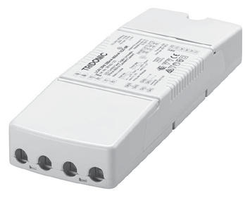 5 to 100 % (depending on dimmer) Properties Casing: polycarbonat, white Compact dimensions Overload protection Short-circuit protection No-load protection Technical data Rated supply voltage 220 240