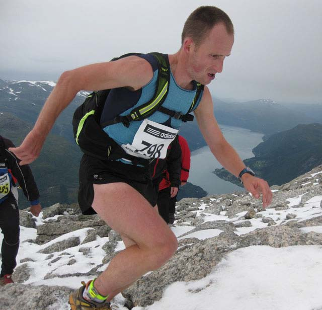 David Schneider, Inov-8 Switzerland.