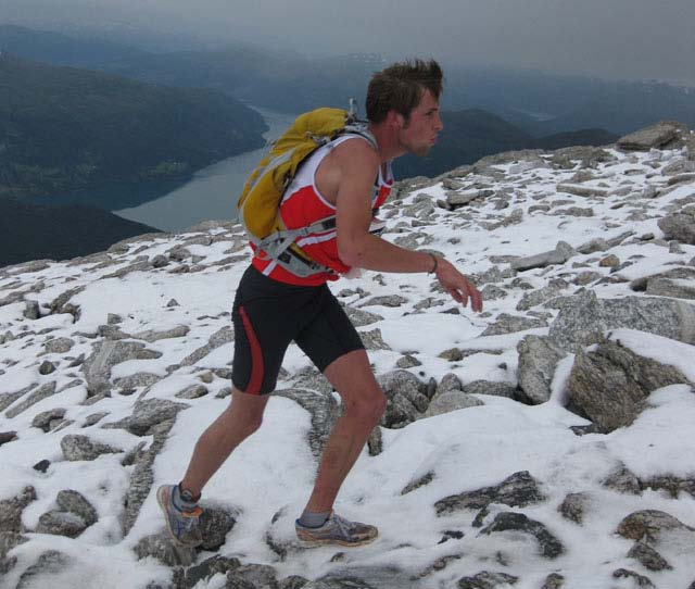 Sindre Buraas, SK Vidar, Norway, won the World Trophy in Mountain Running Uphill for Junior in