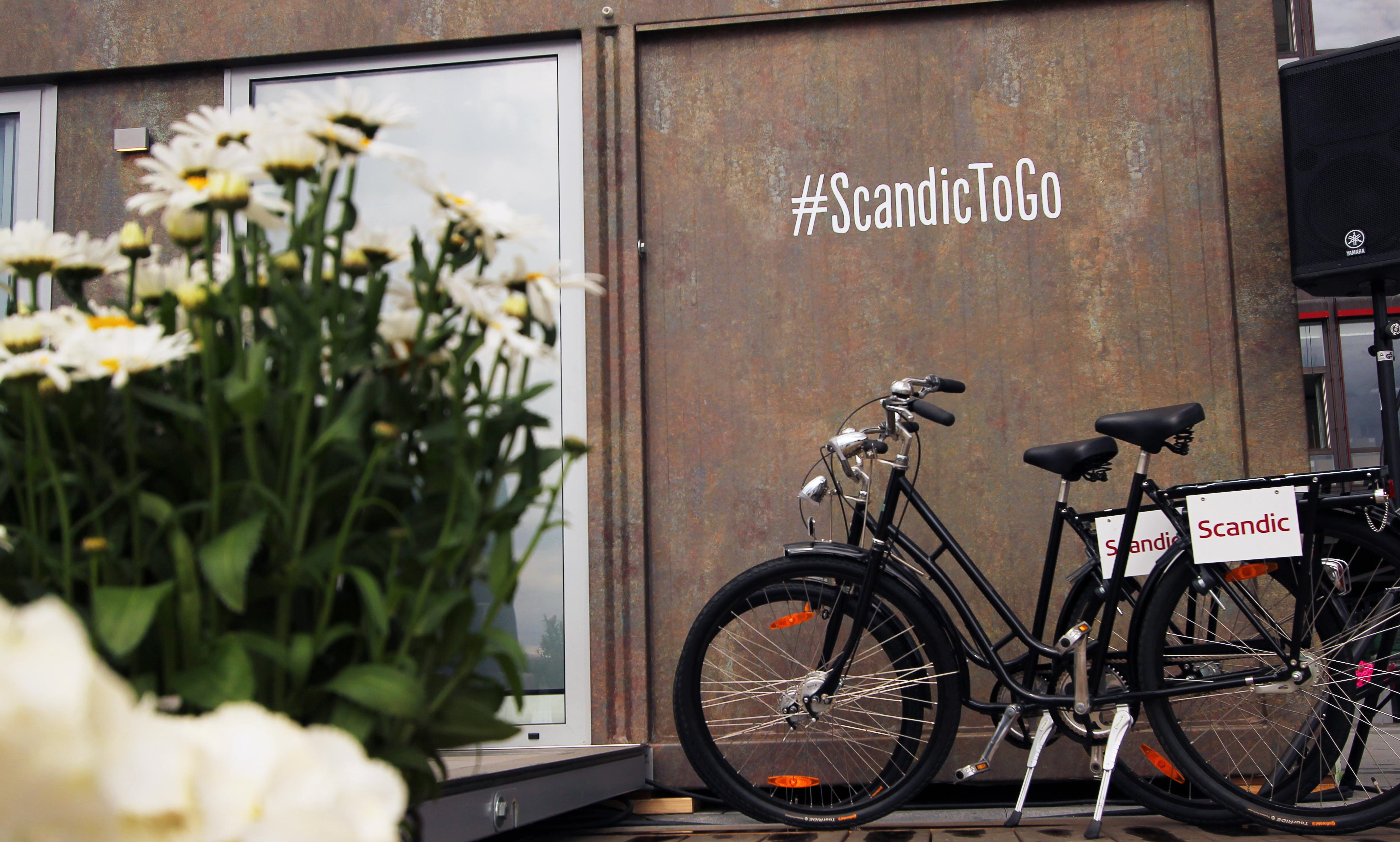 SCANDIC TO GO DIGITALT Tilgjengelig og bookbar på Scandichotels.