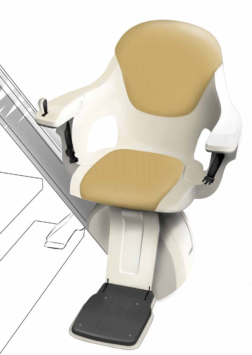designed seat makes the ride smooth and comfortable.