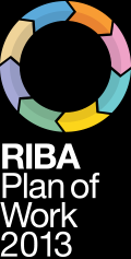 By developing a new generation RIBA Plan of Work (2013) that incorporates: sustainable design principles, provides the infrastructure to support Building Information Modelling (BIM), promotes