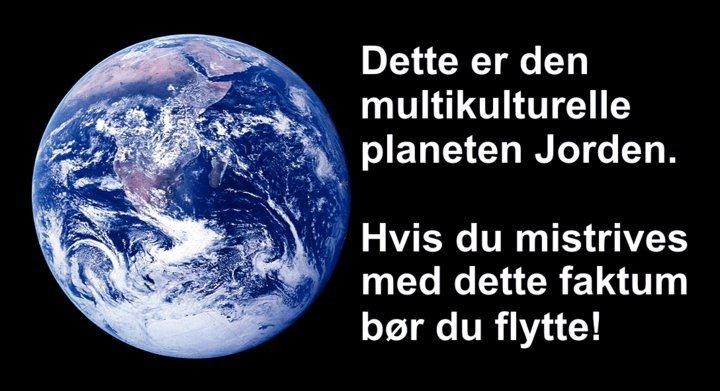 You have to be the change that you want to see in this world Vi må endre holdningen at vi tar det vi har!