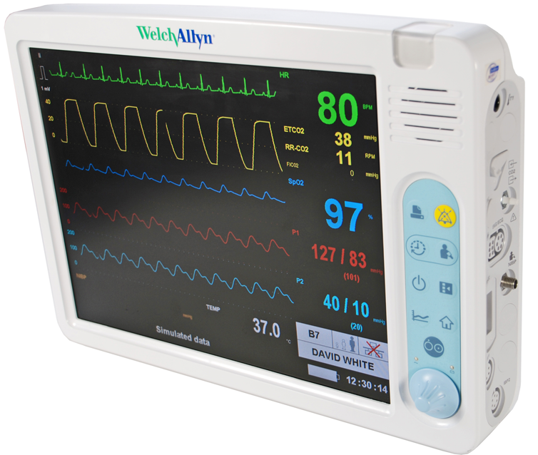 Welch Allyn 1500 Patient Monitor