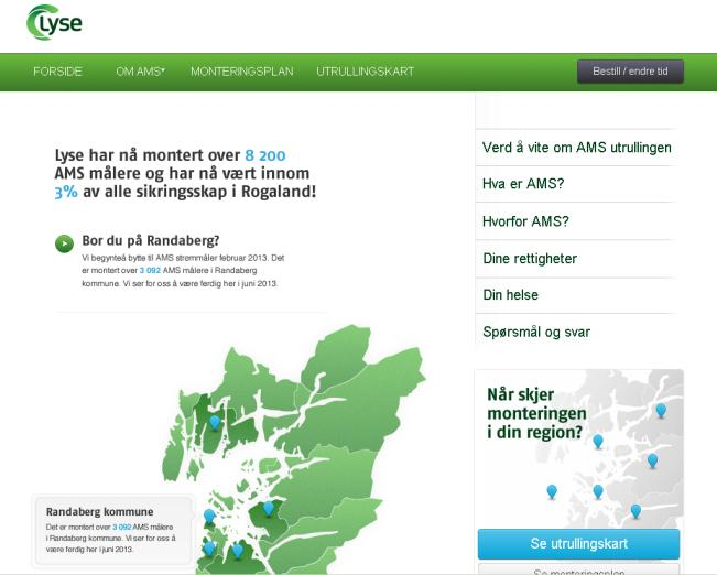 Automatisk aktiviering GIS - web Data Management og drift MDMS Device