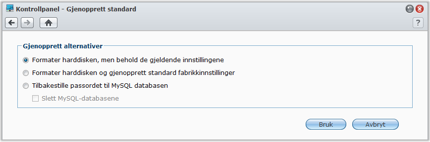 Indeksere multimediafiler for programmer Brukerveiledning for Synology DiskStation Gå til Hovedmeny > Kontrollpanel > Medieindekseringstjeneste for å la medieindekseringstjenesten automatisk søke