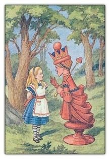 The Red Queen Lewis Carroll's Through the