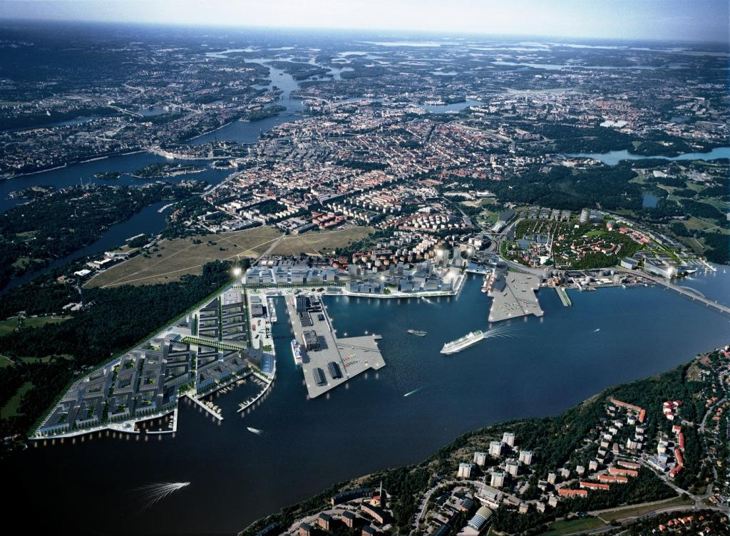 Royal Seaport of Stockholm A prime example of sustainable urban development Vision Royal Seaport an international benchmark of sustainable urban development Mission and goals Build 10 000 new