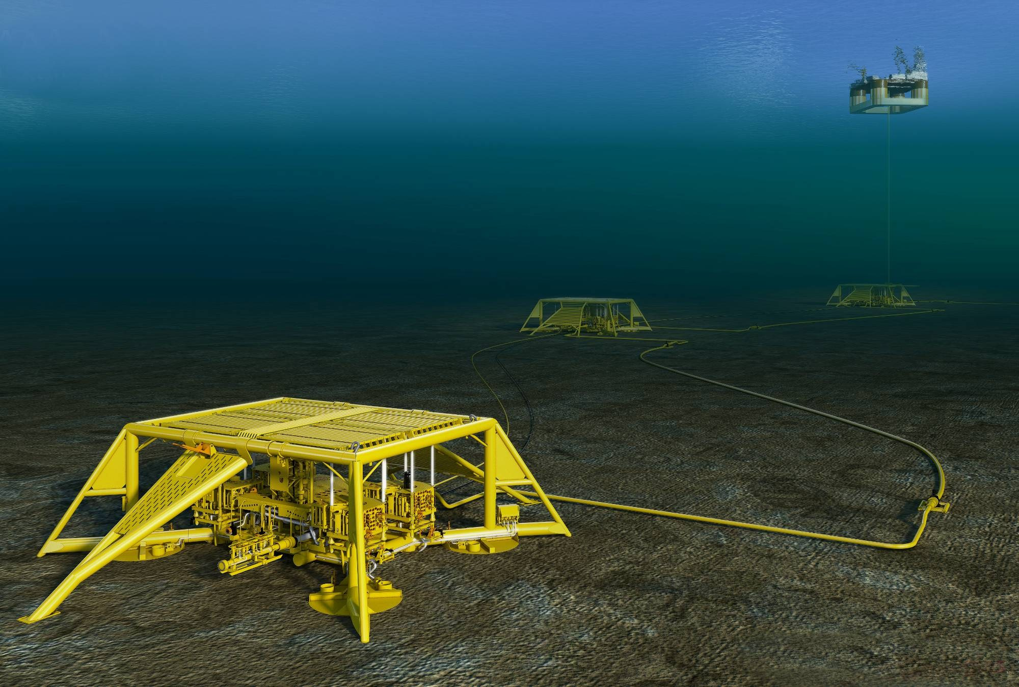 Subsea Pool Drift - «Ensartet