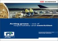 DB Schenker Logistics as Eco Pioneer With our carbon calculation methods and tools, we are the industry leader.