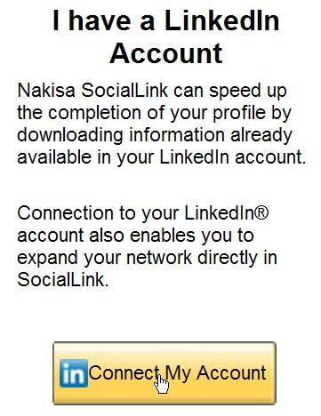 Social Media: SocialLink in SAP Organizational Visualization by Nakisa Import profile