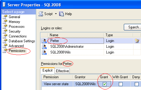 Tilgang fra lokalnett 1. Start SQL Server Configuration Manager. Kontroller at TCP/IP er Enabled og at SQL Server Browser er startet. 2. Åpne i brannmur eller slå den av.