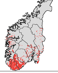 Saudlandsvatn 1974-2013 SNSF-prosjektet (Acid Precipitation Effects on Forest and Fish 1974-79) Valgt som