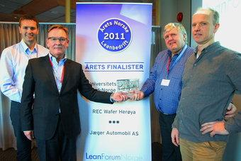 November awarded the Lean Forum Norway's big annual