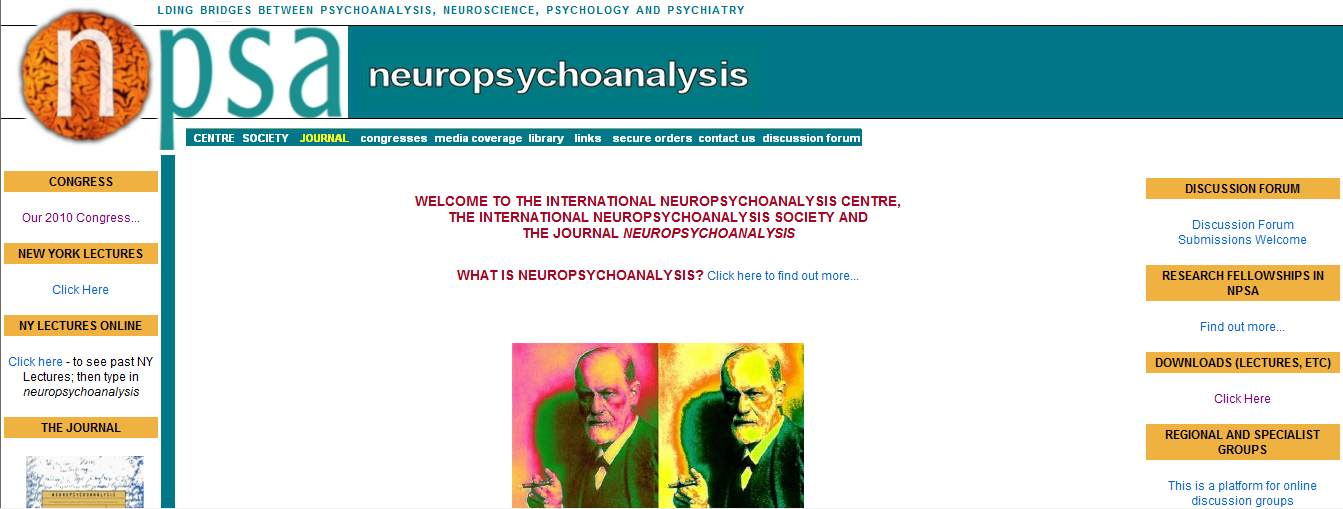 International Neuro-Psychoanalytic Society Stiftet 2000 i