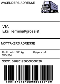 Merking av transportinformasjon