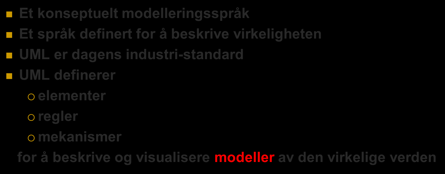 UML (Unified Modelling