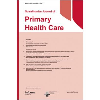 2012 Antibiotic prescribing in nursing homes in an area with low prevalence of antibiotic resistance: Compliance with national guidelines Read More: http://informahealthcare.com/doi/abs/10.