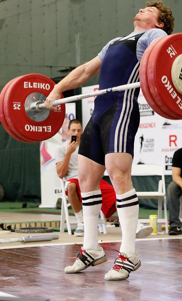 Olympiske løft for prestasjon There is little doubt that training with the full weightlifting