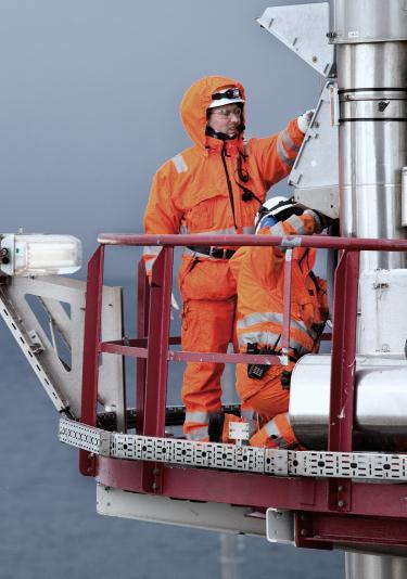 Arctic Protection ARCTIC Foto: alle fra Statoil Thermal protection and temp.