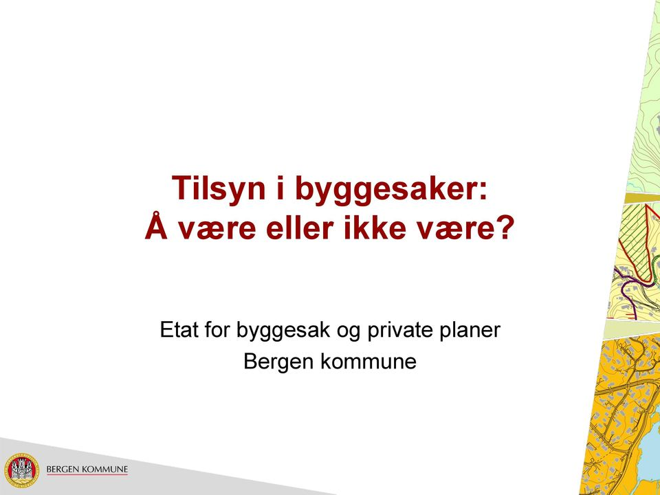 Etat for byggesak og