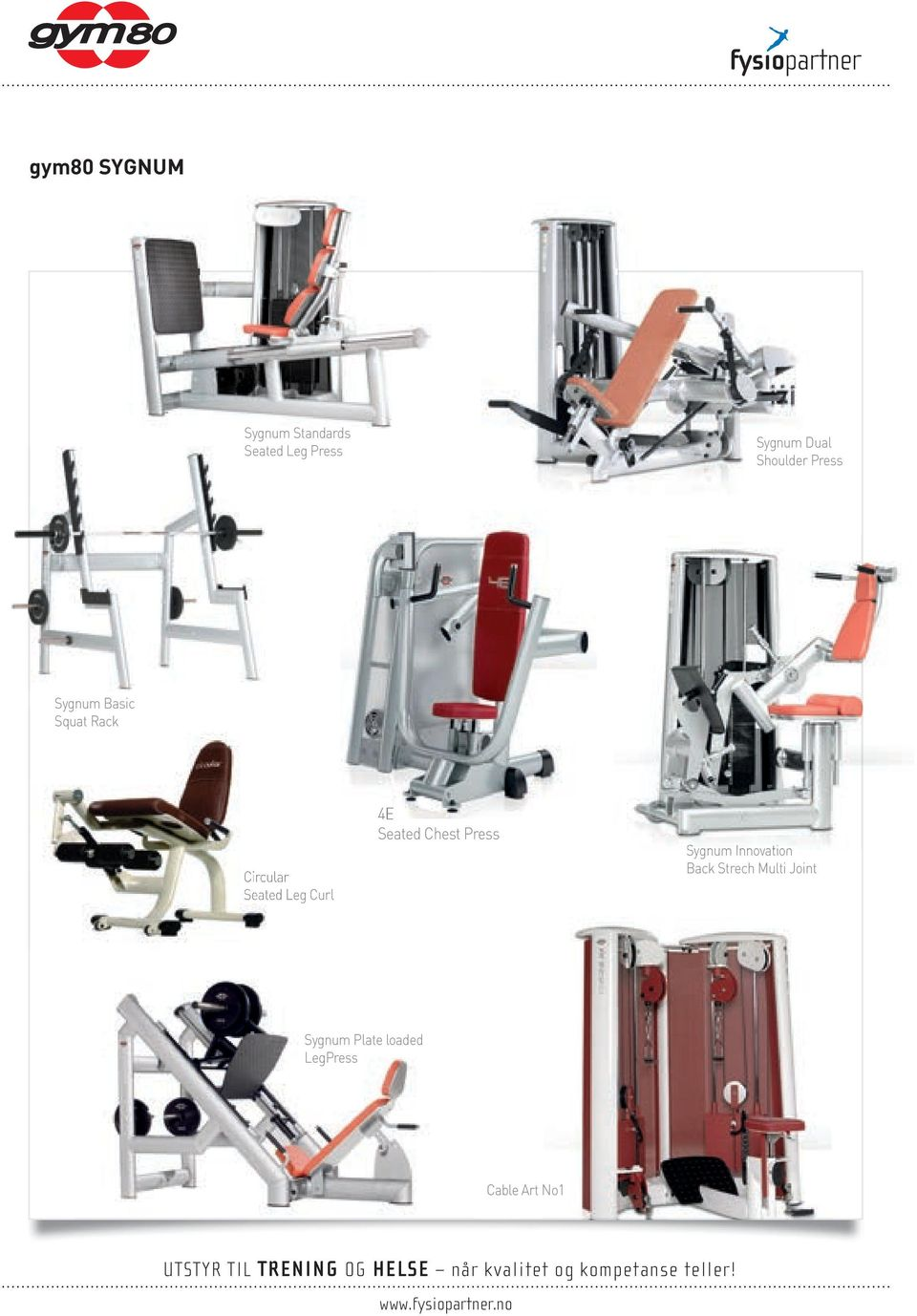 Seated Leg Curl 4E Seated Chest Press Sygnum Innovation