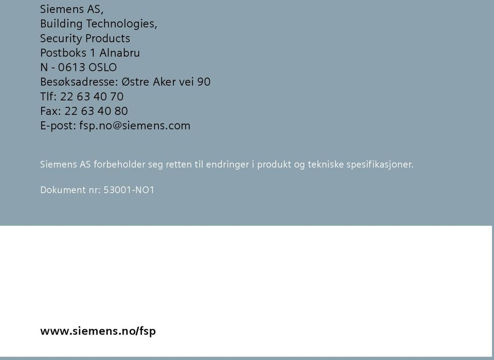 E-post: fsp.no@siemens.