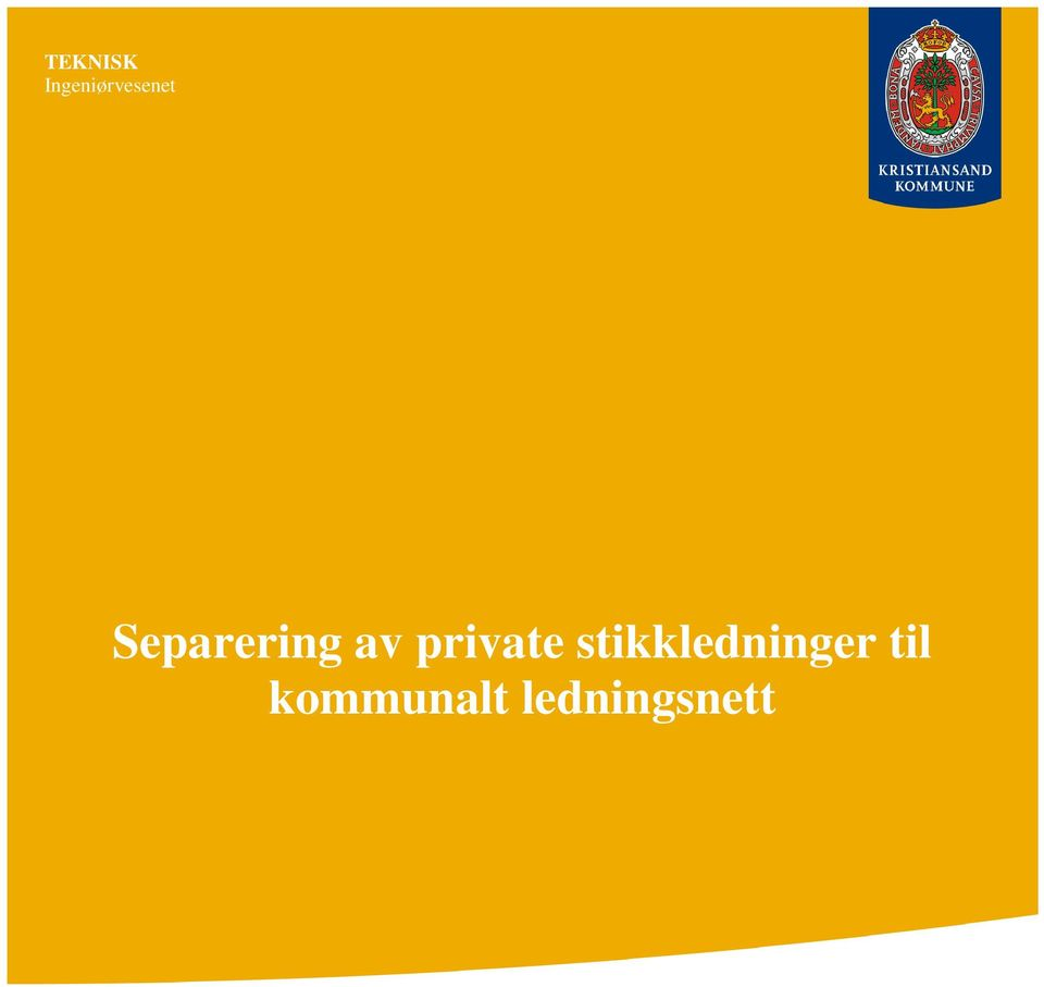 Separering av private