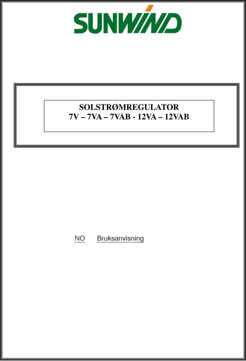 SOLSTRØMREGULATOR 7V