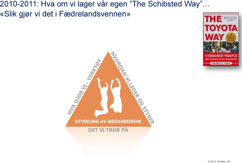 Schibsted Way «Slik