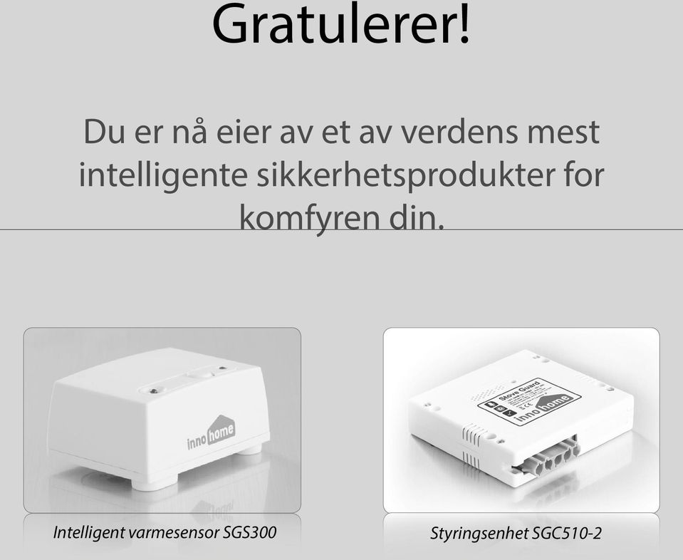 intelligente sikkerhetsprodukter for