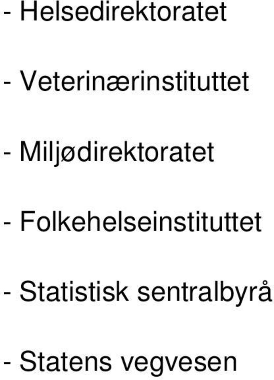 Miljødirektoratet -