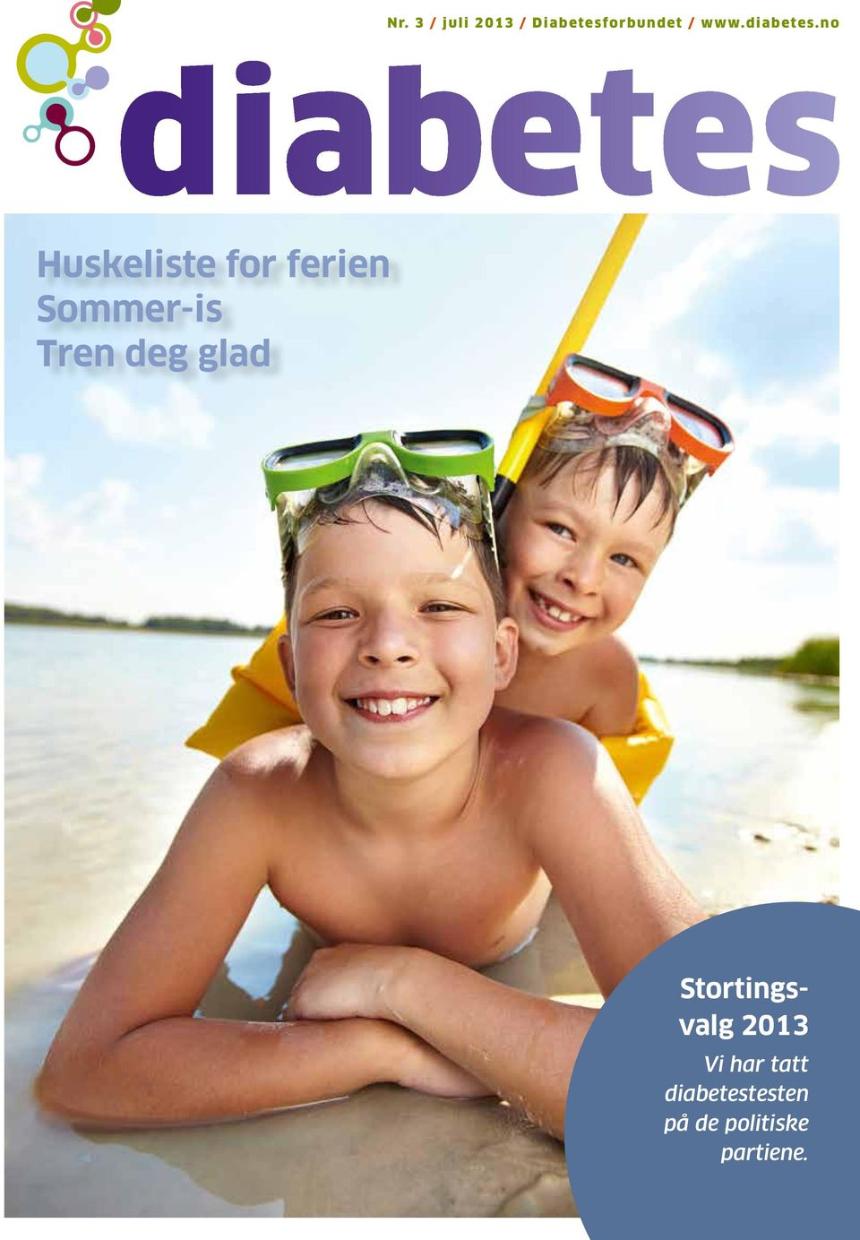 no Huskeliste for ferien Sommer-is Tren deg