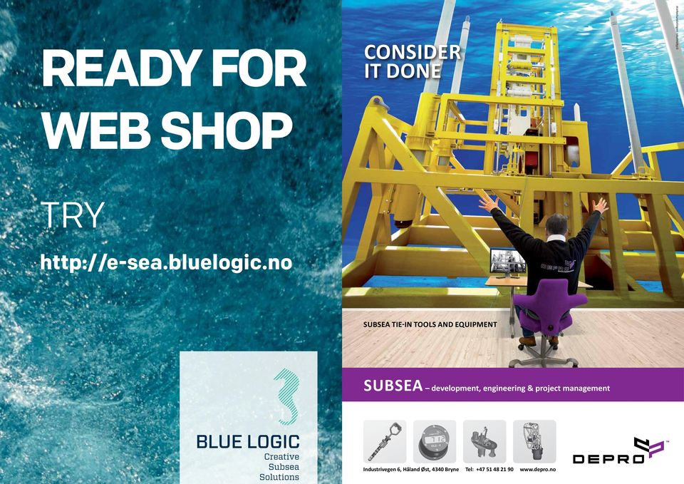 no SUBSEA TIE-IN TOOLS AND EQUIPMENT SUBSEA development,