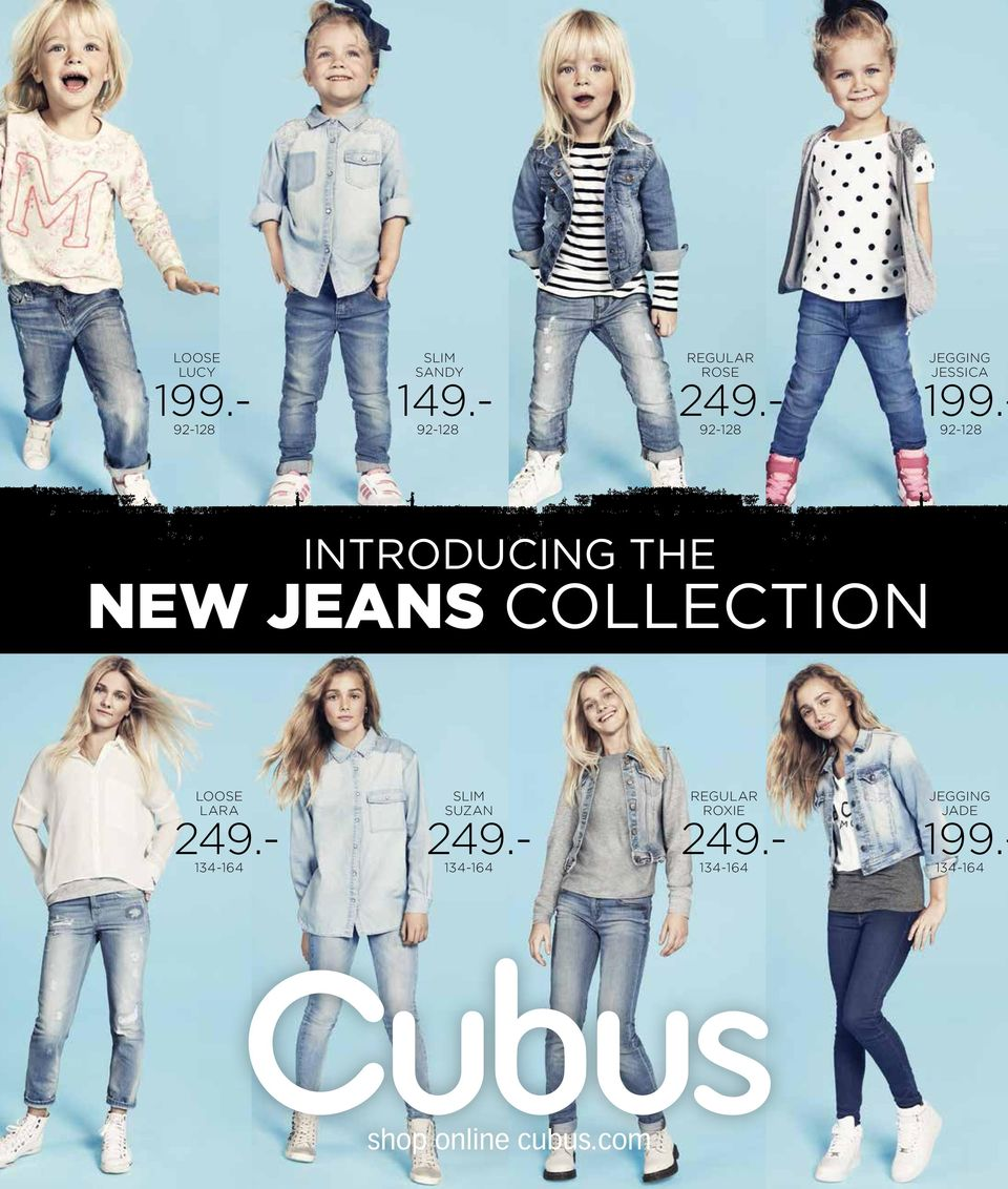 - 92-128 INTRODUCING THE NEW JEANS COLLECTION loose lara 249.