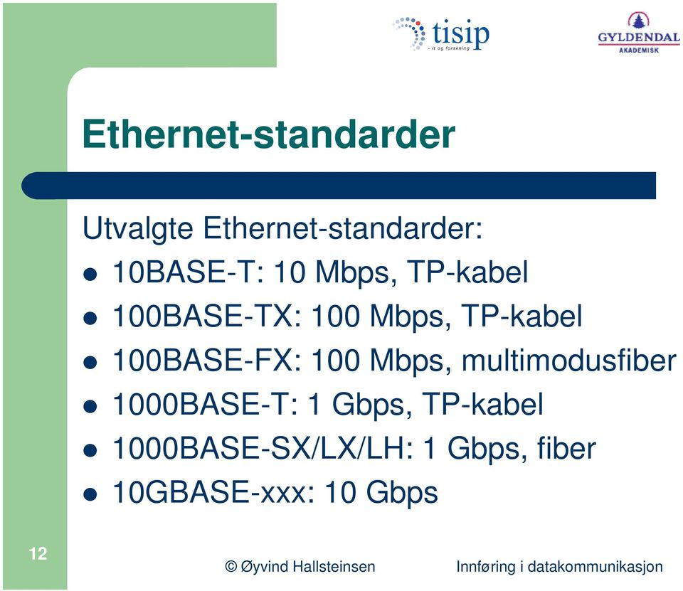 TP-kabel 100BASE-FX: 100 Mbps, multimodusfiber