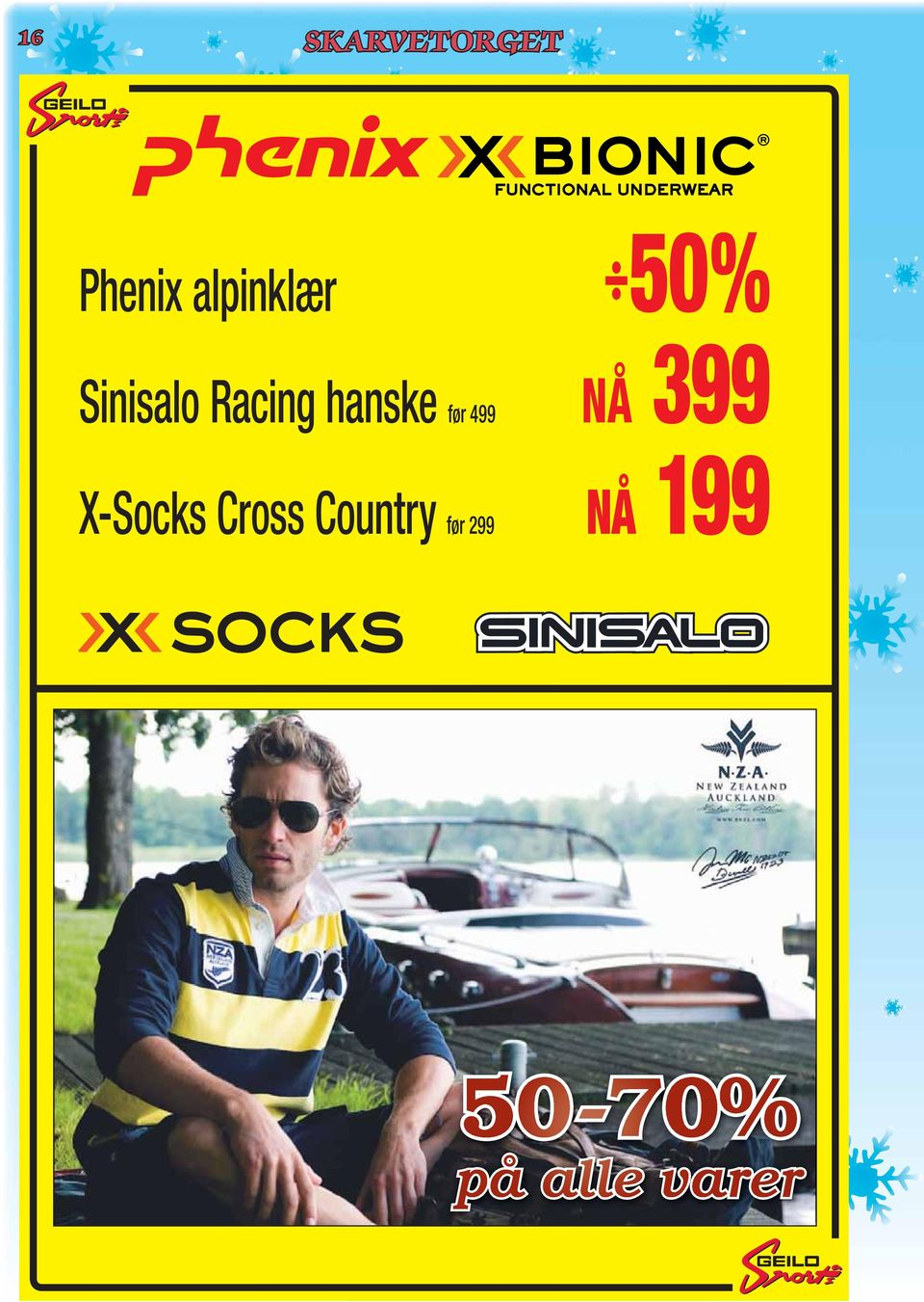 499 399 NÅ X-Socks Cross Country