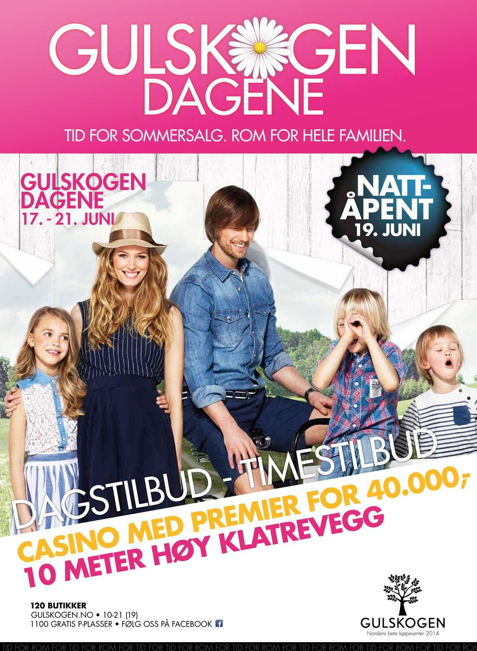 JUNI DAGS - TIMES CASINO MED PREMIER FOR 40.