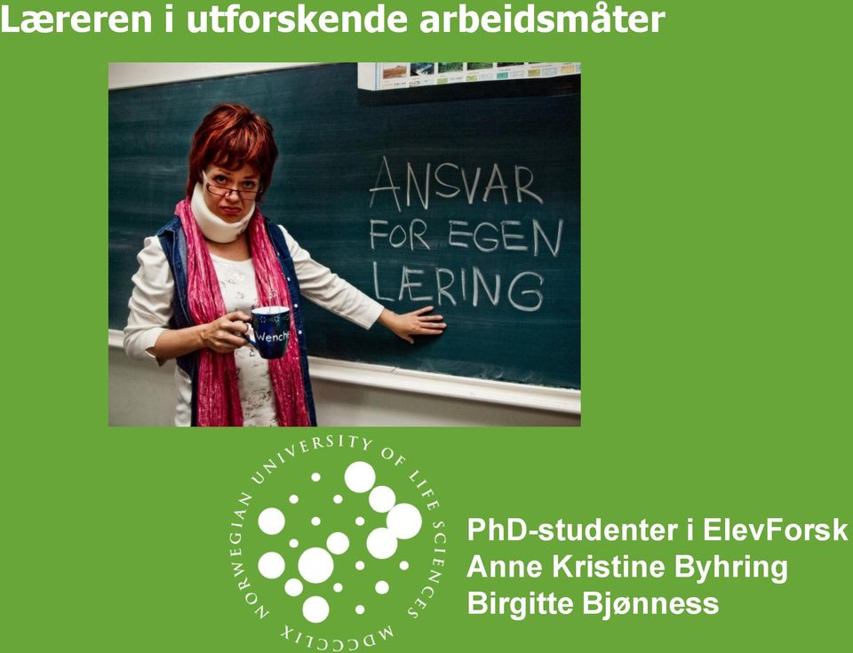 PhD-studenter i