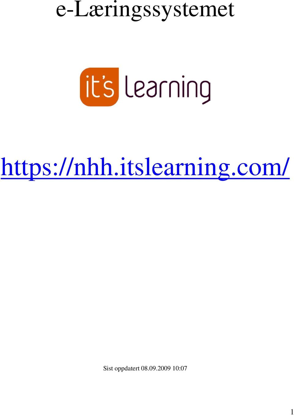 itslearning.