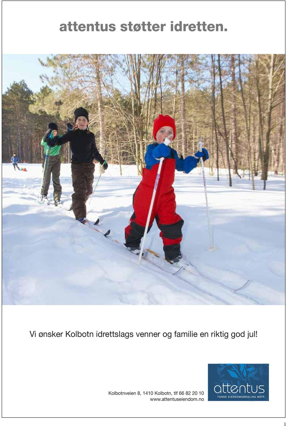 familie en riktig god jul!