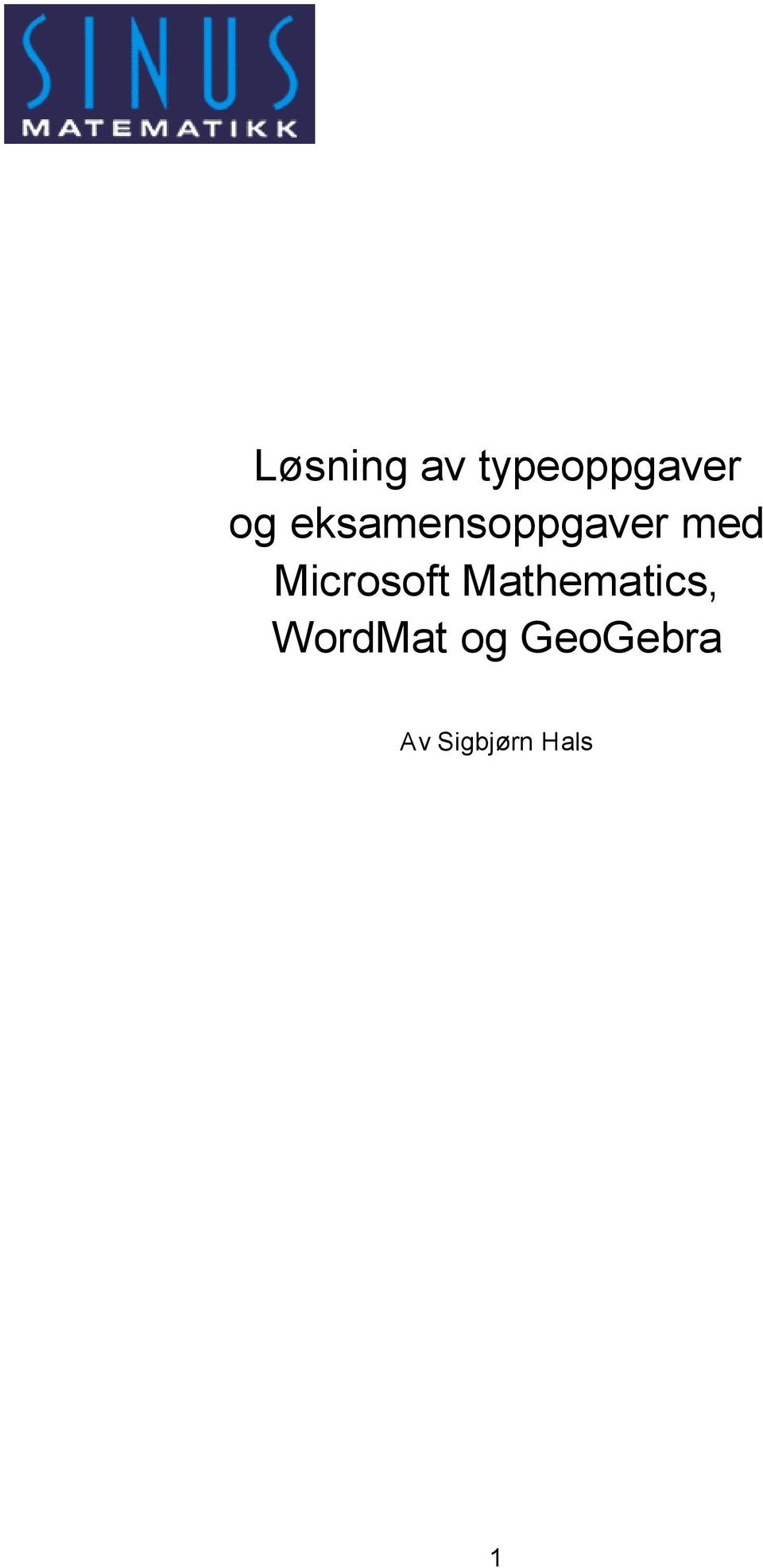 Microsoft Mathematics,