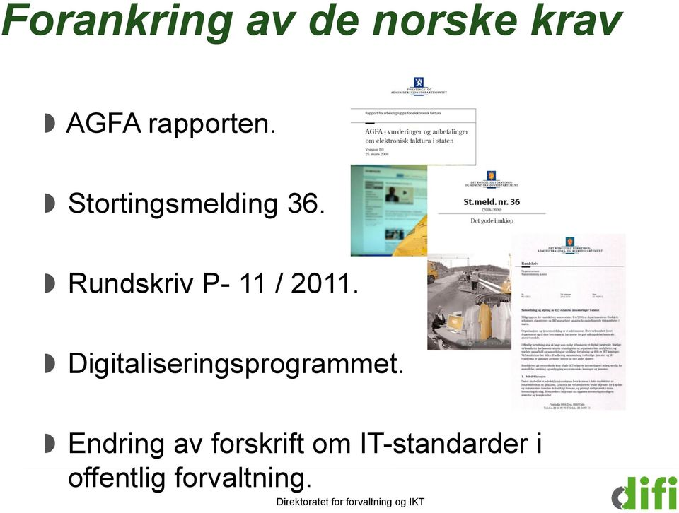 Digitaliseringsprogrammet.