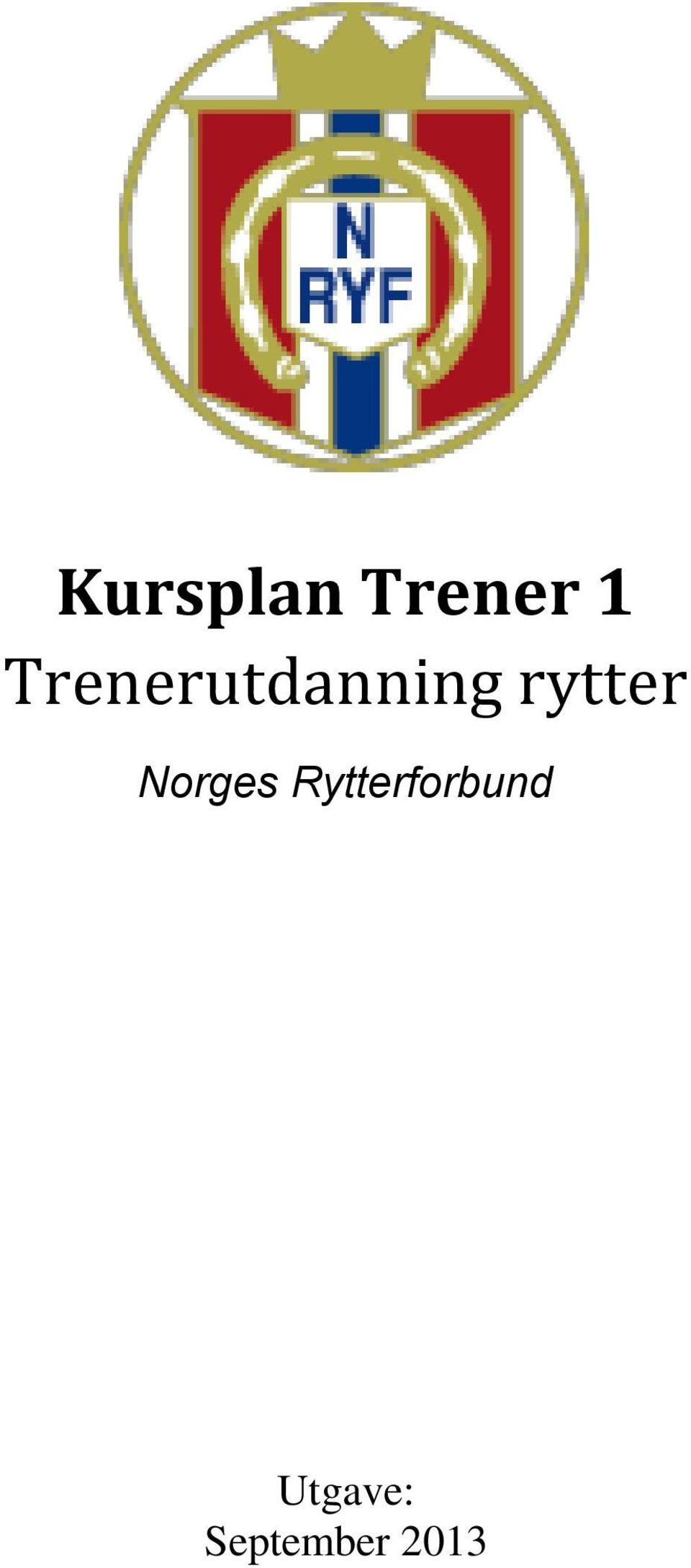 rytter Norges