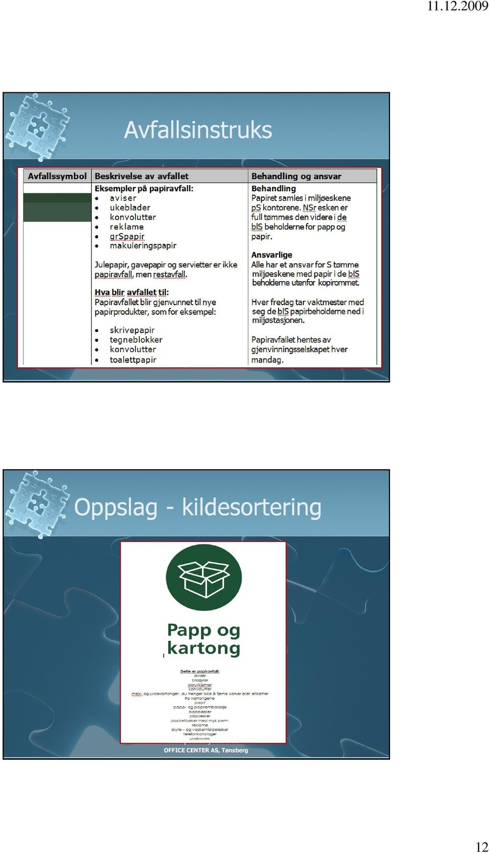 kildesortering