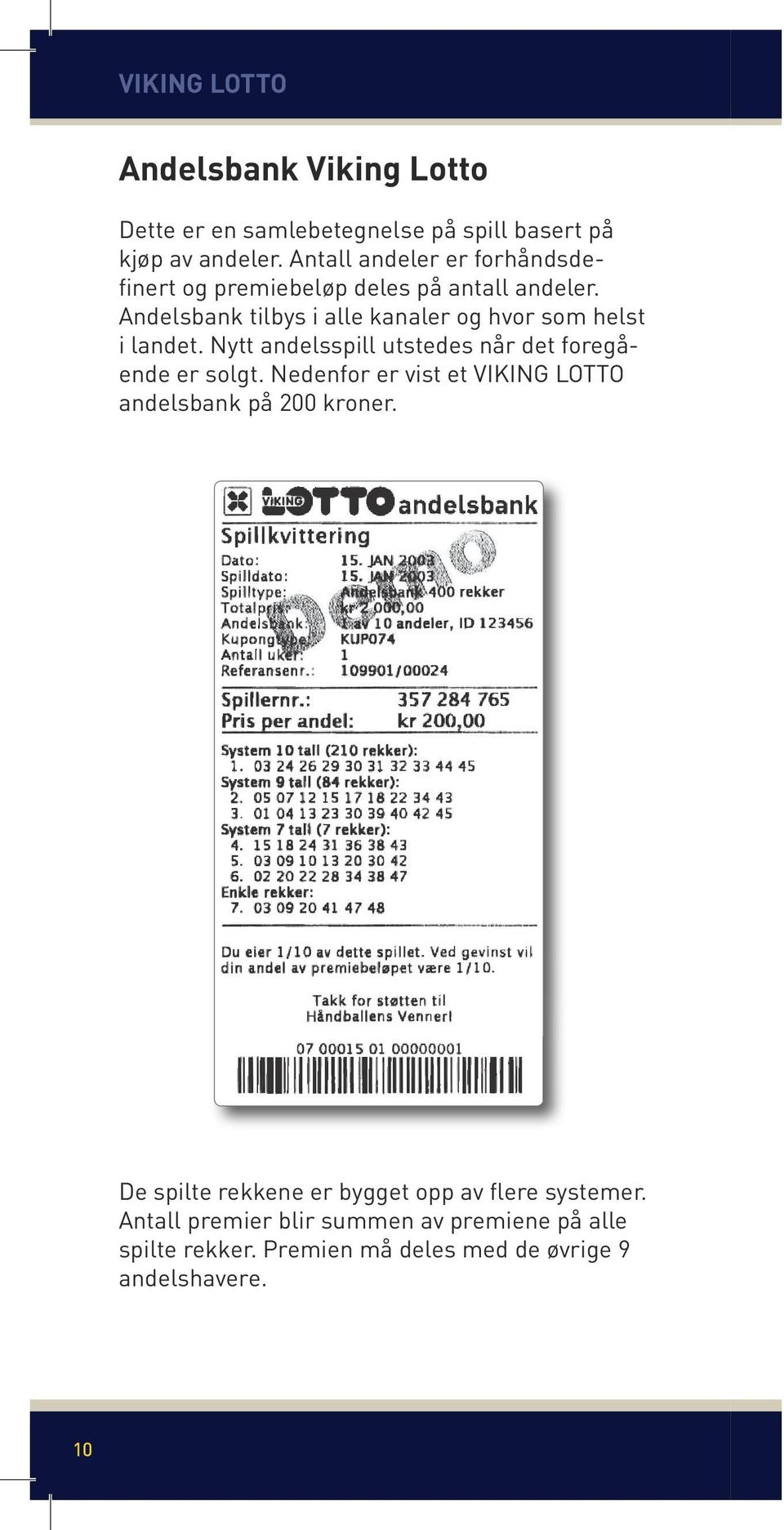 Viking lotto premie