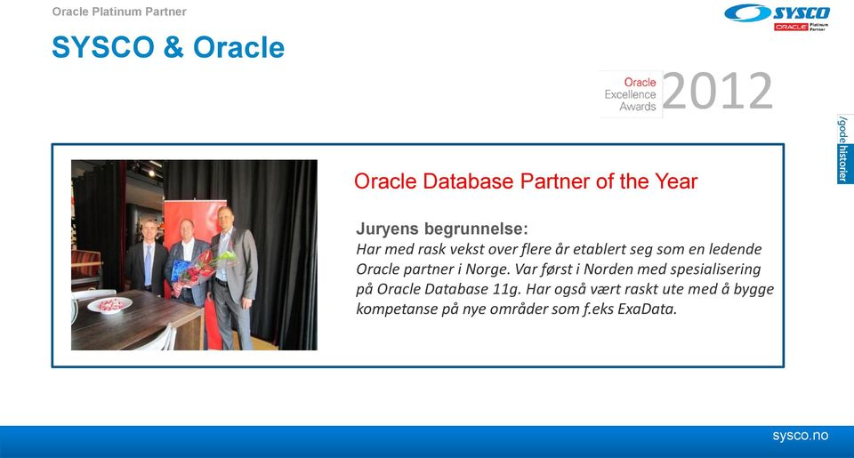 Oracle partner i Norge.