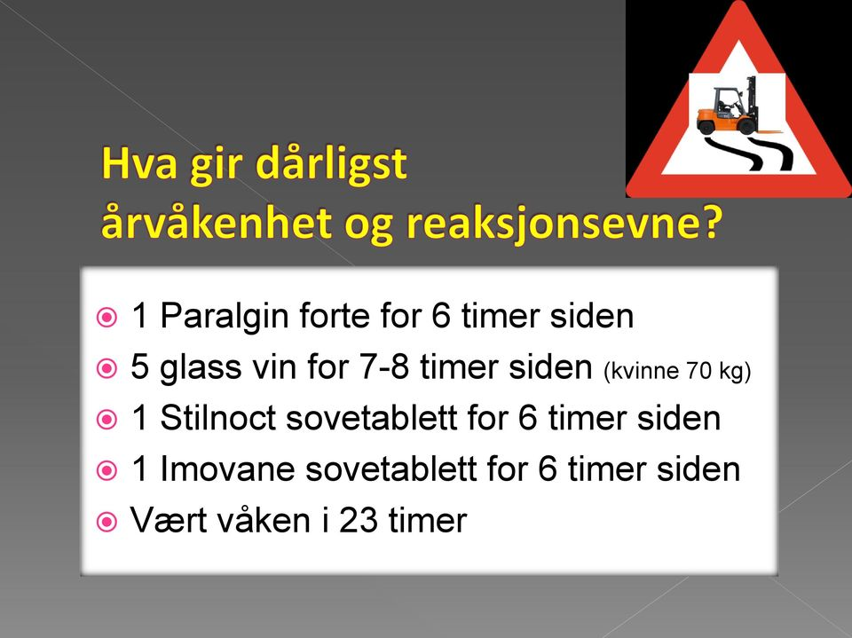 Stilnoct sovetablett for 6 timer siden 1