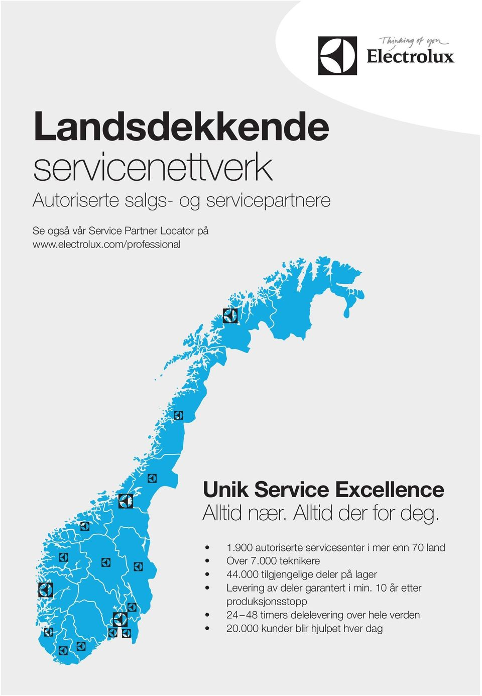 Electrolux service norge