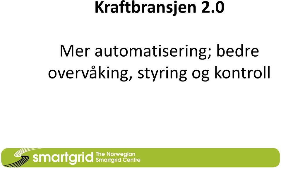 automatisering;